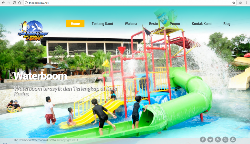 Waterboom The Peak View Kudus